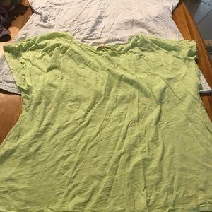 Fresh produce 2 cotton shirts one size